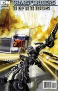 Transformers Nefarious (2010 IDW) 5A