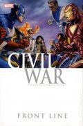 Civil War Front Line HC (2010 Marvel) 1-1ST