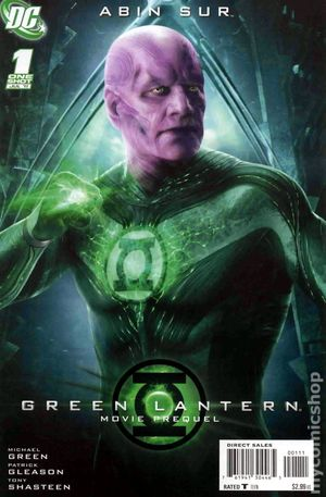 Green Lantern Movie Prequel Abin Sur (2011 DC) 1
