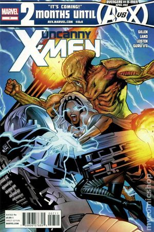 Uncanny X-Men (2011) 2nd Series 7