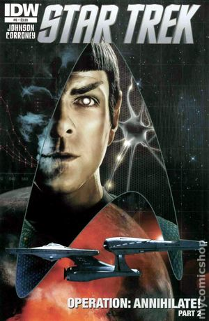 Star Trek (2011 IDW) 6A