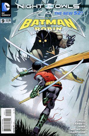 Batman and Robin (2011 2nd Series) 9