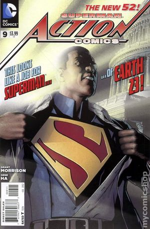 Action Comics (2011 2nd Series) 9A