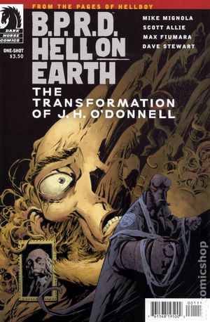 BPRD Hell on Earth Transformation of JH Odonnell 1A