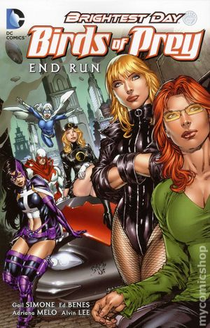 Birds of Prey End Run TPB (2012 DC) 1-1ST