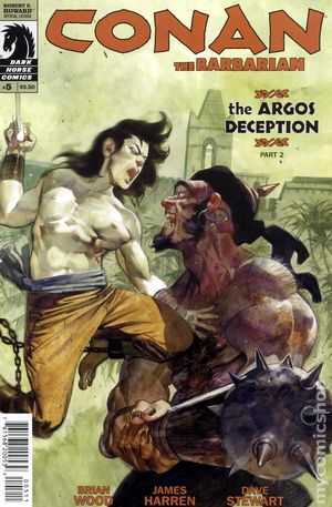 Conan the Barbarian (2012 Dark Horse) 5