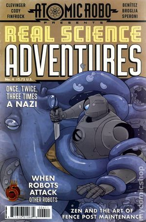 Atomic Robo Real Science Adventures (2012 Red 5) 4
