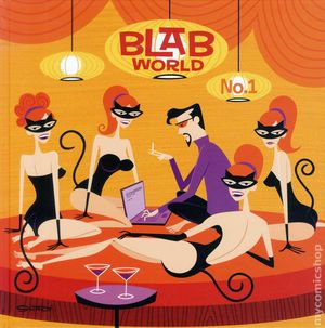 Blab World HC (2012 Last Gasp) 1-1ST