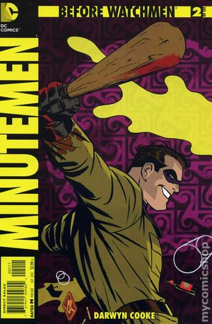Before Watchmen Minutemen (2012) 2A