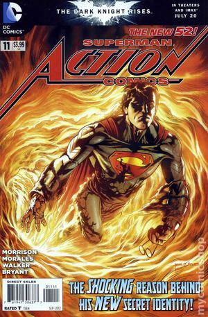 Action Comics (2011 2nd Series) 11A