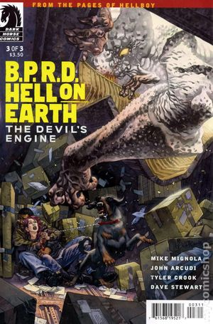 BPRD Hell on Earth Devils Engine (2012 Dark Horse) 3A