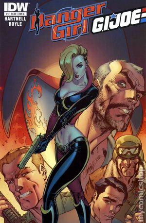 Danger Girl GI Joe (2012 IDW) 1A