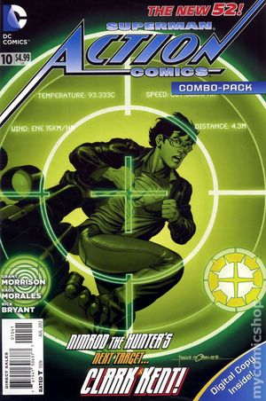 Action Comics (2011 2nd Series) 10COMBO