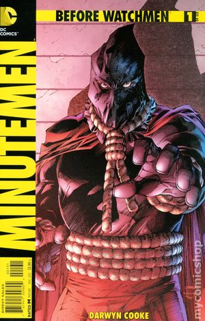 Before Watchmen Minutemen (2012) 1C
