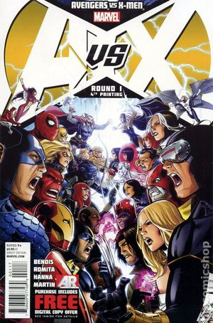 Avengers vs. X-Men (2012 Marvel) 1J