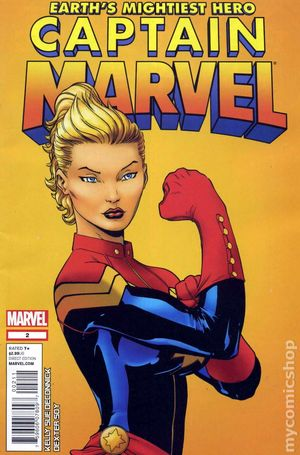 Captain Marvel (2012 7th Series) 2A