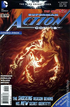 Action Comics (2011 2nd Series) 11COMBO