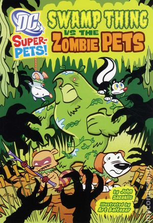 DC Super-Pets Swamp Thing vs. the Zombie Pets SC (2012) 1-1ST