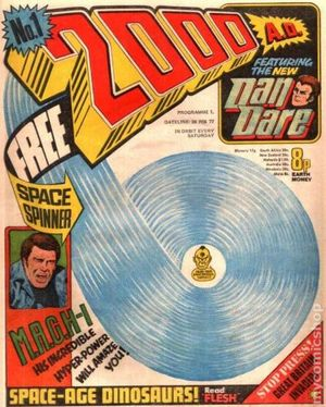 2000 AD (1977 United Kingdom) 1