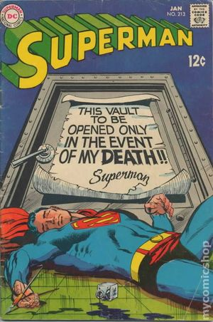 Superman (1939 1st Series) 213