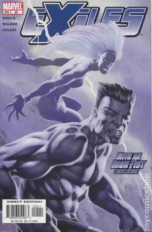 Exiles (2001 1st Series Marvel) 25