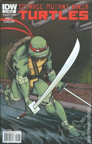 Teenage Mutant Ninja Turtles (2011 IDW) 1F