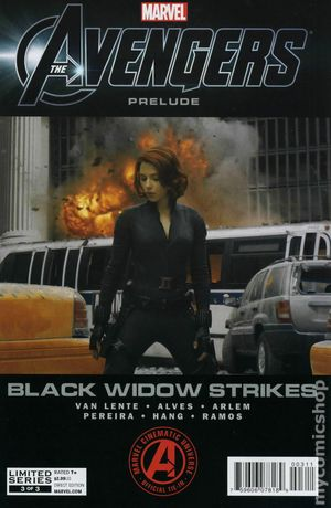 Avengers Black Widow Strikes (2012) 3