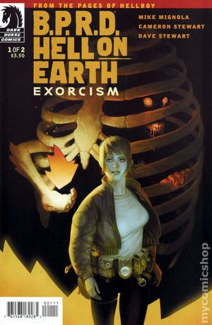 BPRD Hell on Earth Exorcism (2012 Dark Horse) 1