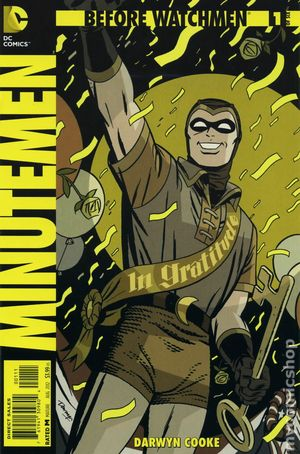 Before Watchmen Minutemen (2012) 1A