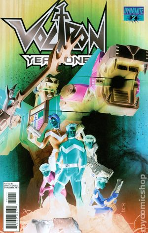 Voltron Year One (2012 Dynamite) 2B