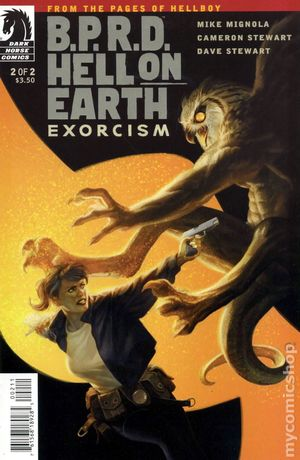 BPRD Hell on Earth Exorcism (2012 Dark Horse) 2