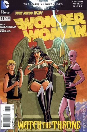 Wonder Woman (2011 4th Series) 11A