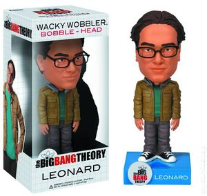 Big Bang Theory Wacky Wobbler Bobble-Head (2011) LEONARD