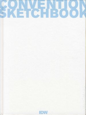 Convention Sketchbook HC (2012 IDW) 1-1ST