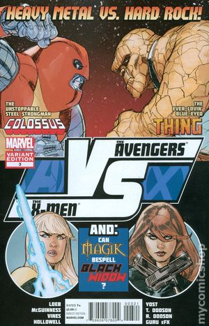 AVX vs. (2012 Marvel) 3B