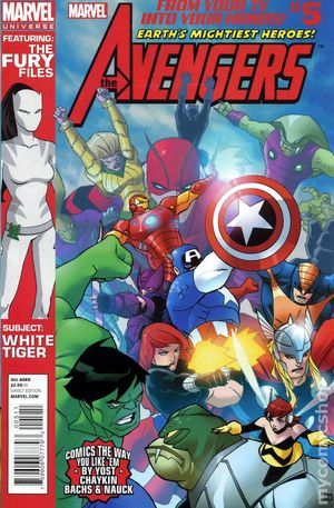 Avengers Earth's Mightiest Heroes (2012 Marvel Universe) 5