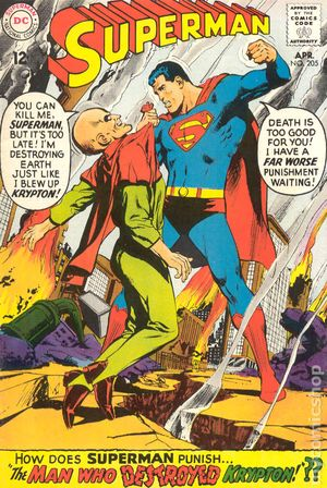 Superman (1939 1st Series) 205