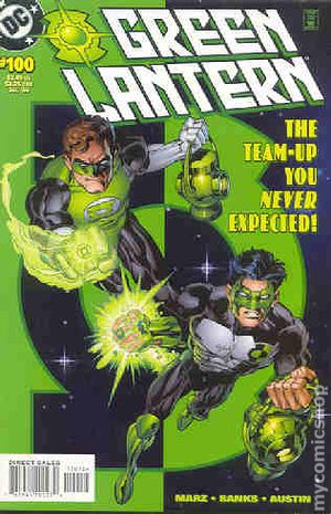 Green Lantern (1990-2004 2nd Series) 2nd Printing 100