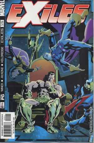 Exiles (2001 1st Series Marvel) 15