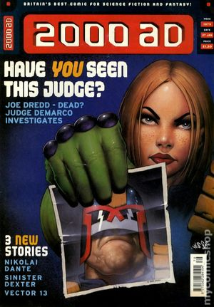 2000 AD (1977 United Kingdom) 1079