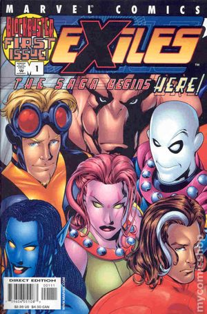 Exiles (2001 1st Series Marvel) 1
