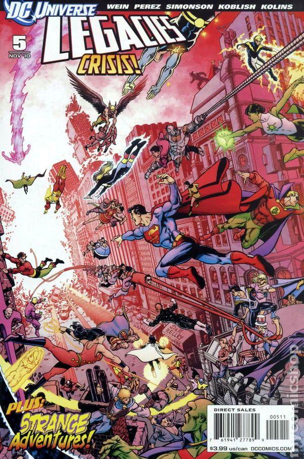 dc universe legacies  2010  comic books
