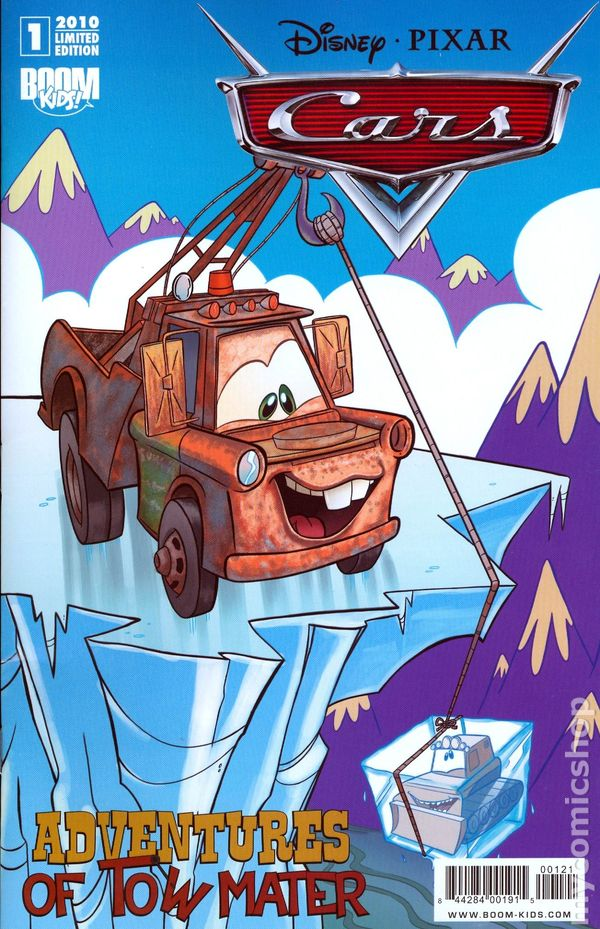 Cars Adventures Of Tow Mater 2010 Boom Comic Books