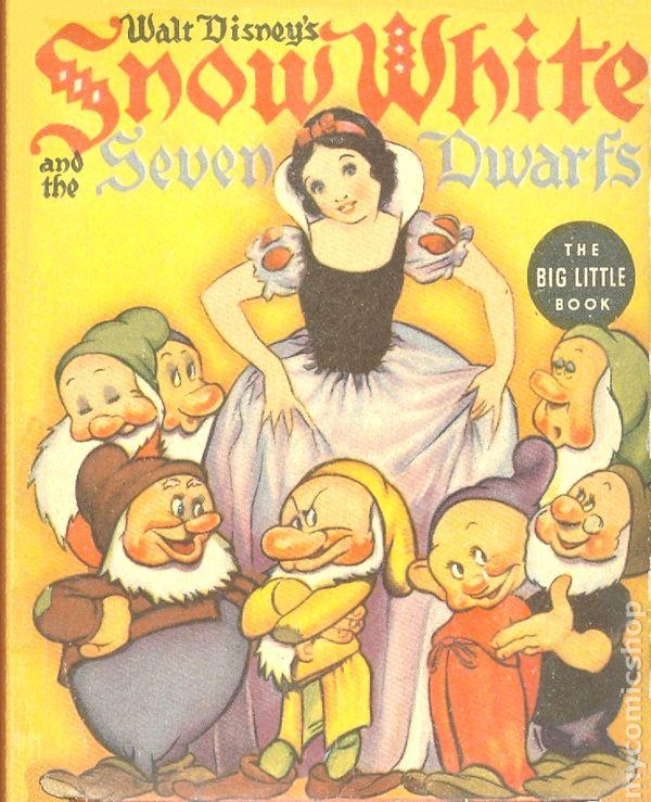 Snow white and the seven dwarfs 1938 whitman blb comic books