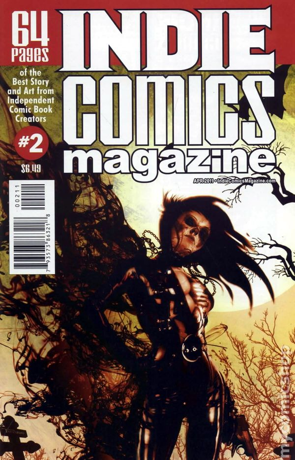 Indie Comics Magazine (2011 Aazurn Publishing) comic books