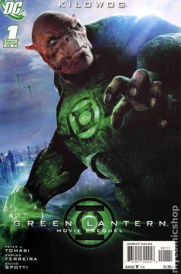 green lantern movie prequel kilowog 2011 dc comic books. Black Bedroom Furniture Sets. Home Design Ideas