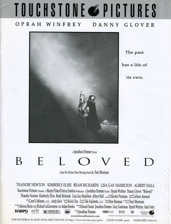 Beloved promotional press kit 1998 kit 1998 nm for Touchstone promotional products