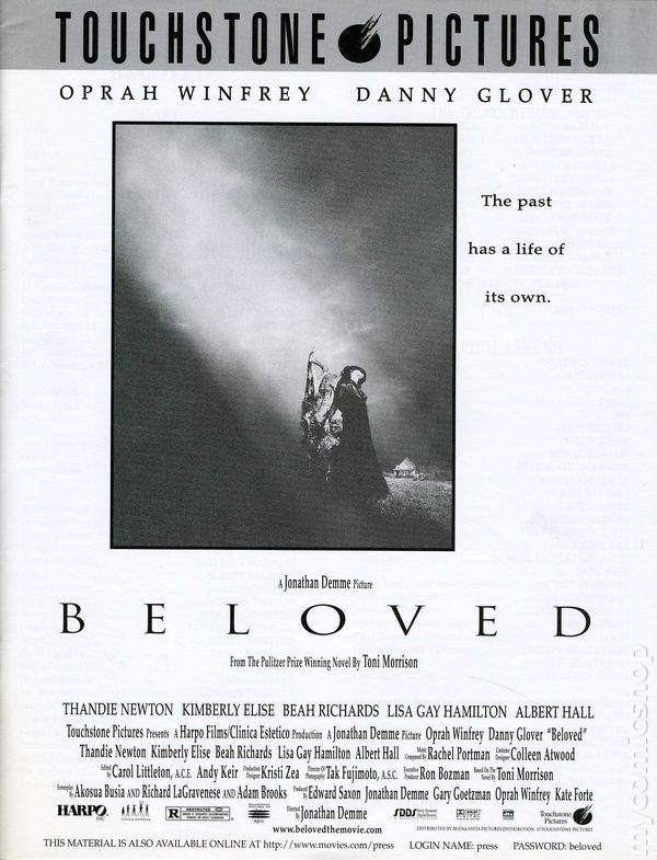 Beloved Promotional Press Kit 1998 Kit 1998 Nm
