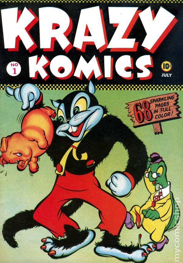"""Résultat de recherche d'images pour """"krazy komics 1"""""""