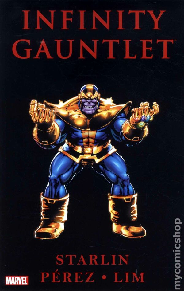 Infinity Gauntlet Tpb 2011 Marvel 3rd Edition Comic Books